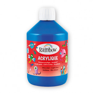 Rainbow Acrylfarbe, 500 ml, hellblau