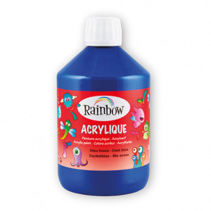 Rainbow Acrylfarbe, 500 ml, dunkelblau