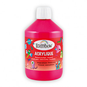 Rainbow Acrylfarbe, 500 ml, magenta